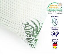 Orthopädisches Kopfkissen, 40 x 80cm Visco-Gelschaum Premium ALOE VERA Bezug 409