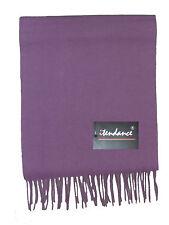 Echarpe 100 % cachemire Véritable- violet mauve -NEUF !