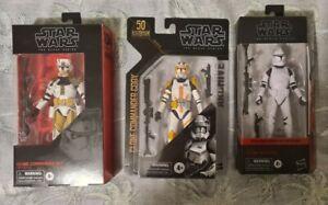 Star Wars Black Series Clone Troopers
