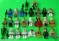 25 LEGO STAR WARS FIGUREN ### DROIDEN - CLONE TROOPER - C-3PO - AMIDALA ### =TOP