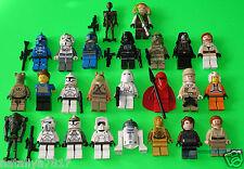 25 LEGO figurines star wars # droïdes CLONE soldat-c-3po - Amidala # = top