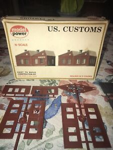 Model Power N Scale US. Customs No. 1547 Construction Kit NIB