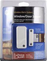 Wireless Alarm System Door Sensor Home House GE Choice Alert Alarm Sensors A-5