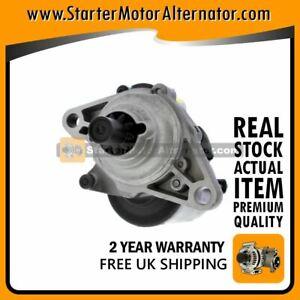fits HONDA HR-V 1.6 PETROL 1999-2006 STARTER MOTOR