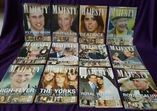 Majesty Magazine Volume 30, All original issues from 2009, British Royal Family