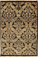 Rugstc 3x5 Senneh Chobi Ziegler Brown Area Rug,Natural dye, Hand-Knotted,Wool