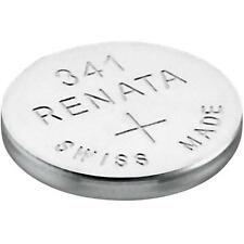 341 (SR714SW) Coin Battery Pack Renata 1.55V / for Watches Car Keys Torches