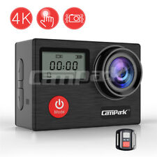 Campark Action Kamera 4K Sport Helmkamera 20M Dual LCD Touchscreen Fernbedienung
