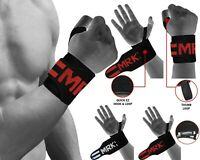 MRK Weight Lifting Gloves Wrist Straps Gym Wraps Wrist Support Fitness Training