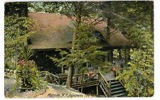 Harmon NY - JAPANESE TEA HOUSE - Postcard Croton on Hudson