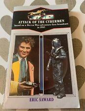More details for doctor who attack of the cybermen eric saward blue spine virgin paperback