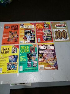 Comics Buyer's Guide Price Guide  Lot of 7 1992