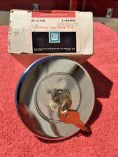 1974 1975 Chevrolet Vega Monza NOS Accessory Locking Gas Cap w/ Keys
