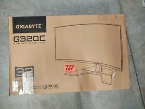 "GIGABYTE G32QC 32"" Widescreen VA LCD Monitor"