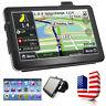 "7"" 4GB Truck Car GPS Navigation Navigator SAT NAV + Free Lifetime Maps -USA"