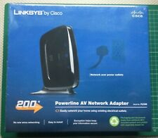 Linksys by Cisco 200Mbps Powerline AV Network Adapter PLE300