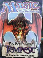 Magic the Gathering Tempest Tournament Starter Deck Factory Sealed Wasteland