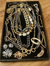 Vintage Designer Signed Jewelry Lot - High End Lot - Estate Jewelry Lot