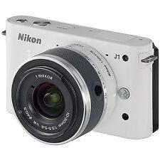 Nikon J1 - WHT 10.1 MP Digital Camera White VR with 10-30mm Lens