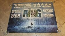 The Ring movie poster (b) Naomi Watts poster, Horror