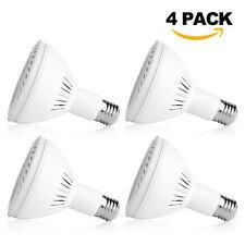 4pack 36Watt LED PAR30 Flood Light Bulb E27/E26 Medium Base 6000K Cool White