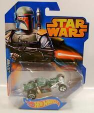 Boba Fett Car Star Wars Disney Hot Wheels Hw Diecast 2015