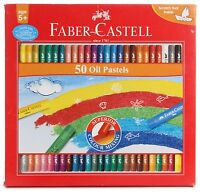 50 x Faber-Castell Oil Pastels Set Oil Pastel Crayons