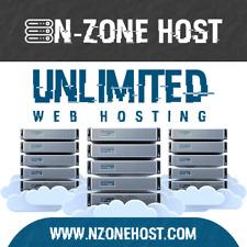 1 Year Unlimited Website Web Hosting Cpanel Linux Wordpress