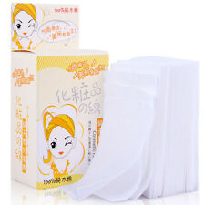 New Disposable Facial Cleansing Cotton Tissue Pad Makeup Remover 100 Sheets