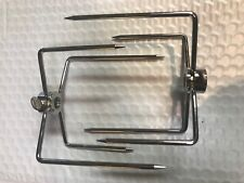 NEW 2X LARGE  BBQ ROTISSERIE FORKS FREE SHIPPING