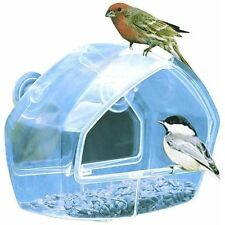 Window Bird Feeder-suction cup anchoring system