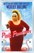 PINK FLAMINGOS FRIDGE MAGNET IMAN NEVERA