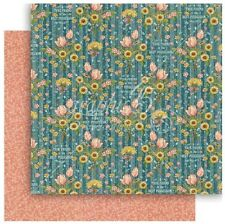 """Graphic 45 Penny's Paper Doll Family - GARDEN PATH - 12x12"""" Scrapbooking Paper"""
