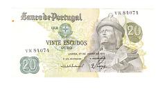 billet de 20 escudos de portugal  en bon état voir photo