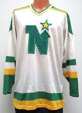 vtg MINNESOTA NORTH STARS 80s Jersey LARGE Cosby/Sandow SK Nylon Blend rare L