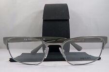 Prada VPR 64R 7CQ-1O1 Silver/Olive New Authentic Eyeglasses 53mm w/Case