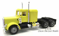 Peterbilt w/Sleeper Yellow Long Tandem Axle HO 1/87 Scale Promotex 25233-YL