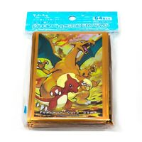 Pokemon Center Japan Charizard Evolutionary 64 Card Shield Deck Sleeves Glossy