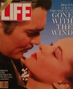 Gone With The Wind Sequal To Scarlett September 1991 Life Magagine Article