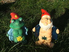 LATEX MOULD MOULDS MOLD.     FLASHER FROG & FLASHER GNOME/LEAF (2017)