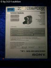 Sony Service Manual DCR PC330 /PC330E Level 2 Digital Video Camera (#5728)