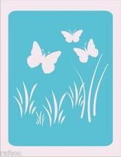 Stencil Butterflies Cards Scrapbook Crafts Paint Color Wall Decoration