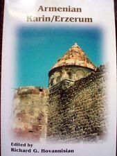 ARMENIAN KARIN- ERZERUM R Hovhannisian; Erzurum Erzrum Garin TURKEY ARMENIA Book