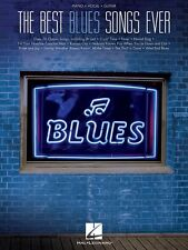 The Best Blues Songs Ever Sheet Music Piano Vocal Guitar SongBook NEW 000312874
