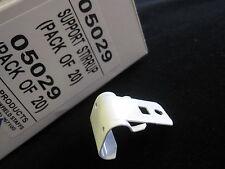 20 Integra métal standard soutien étriers - Rail rideau parenthèses code 05029