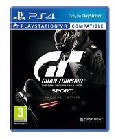 Gran Turismo Sport - DayOne Edition (PS4 Rennspiel) (NEU & OVP) (Blitzversand)