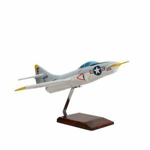 Grumman F9F-8 Cougar Limited Edition Large Mahogany Model