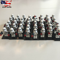 Lot of 40 Star Wars Stormtrooper Minifigure Fits Lego With Blaster Stormtroopers