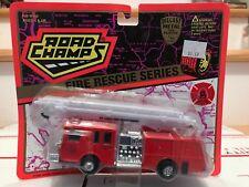 1995 ROAD CHAMPS Fire Rescue Series ST LOUIS FIRE DEPT Diecast/Plastic 1/64