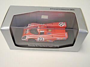 1/43 Minichamps Porsche  917 Kurzheck 1970 Dealer Museum Collection  930 356 911